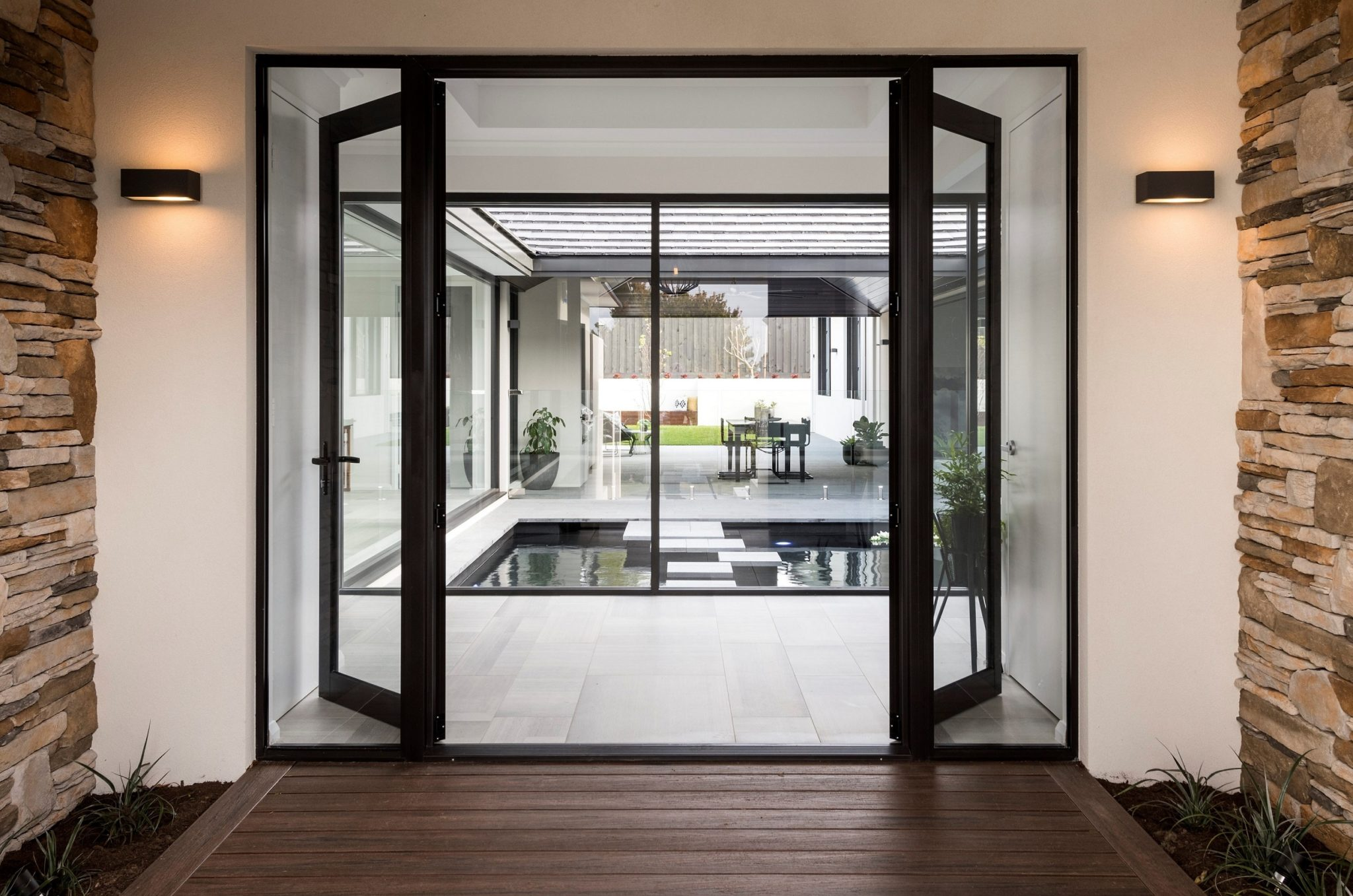 Stylish Aluminium French Doors For Perth Open Windows Doors
